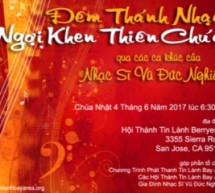 Thông Báo: Chương Trình Ca Nhạc Vũ Đức Nghiêm – San Jose, California