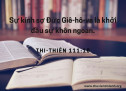 Lời Chúa Mỗi Ngày: Thi Thiên 111:10