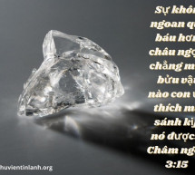 Lời Chúa Mỗi Ngày: Châm Ngôn 3:15