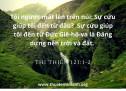 Lời Chúa Mỗi Ngày: Thi Thiên 121:1-2