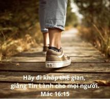 Lời Chúa Mỗi Ngày: Mác 16:15
