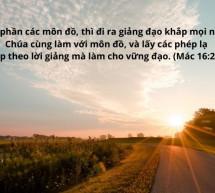 Lời Chúa Mỗi Ngày: Mác 6:20