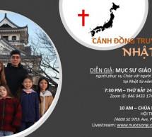 Thông Báo: Cánh Đồng Truyền Giáo Tại Nhật Bản