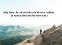 Lời Chúa Mỗi Ngày: Na-hum 1:15