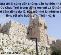 Lời Chúa Mỗi Ngày: Thi Thiên 42:4