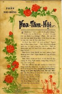 Công bố thành lập Hoa Tâm Hội – Thánh Kinh Báo Tháng 1/1931